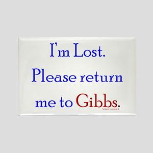 Return Me to Gibbs Rectangle Magnet