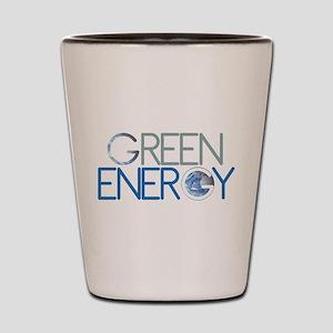 Green Energy Shot Glass