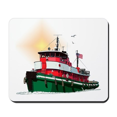 The Tugboat Ohio Mousepad