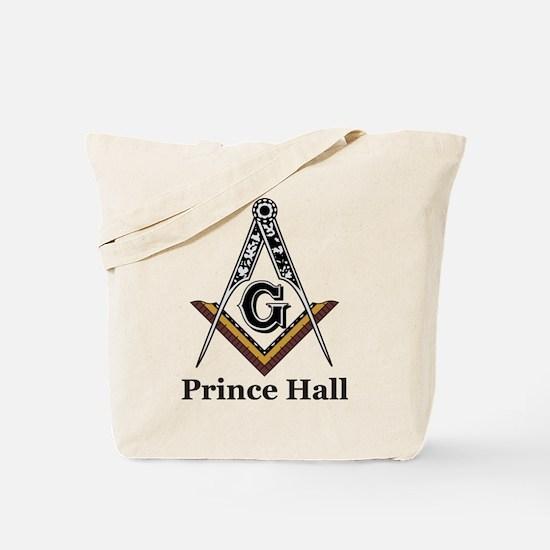 Prince Hall Square and Compass Tote Bag