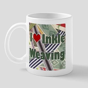 I Love Inkle Weaving Mug