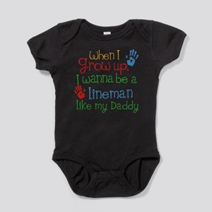 Lineman Like Daddy Body Suit