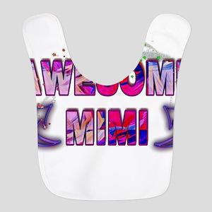 Awesome mimi Polyester Baby Bib
