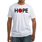 Hope for Japan ! Fitted T-Shirt