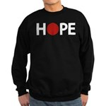 Hope for Japan ! Sweatshirt (dark)