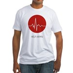 Help Japan Fitted T-Shirt