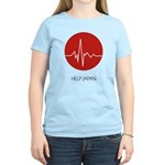 Help Japan Women's Light T-Shirt