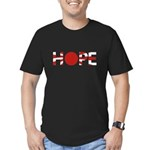 Hope Japan Men's Fitted T-Shirt (dark)