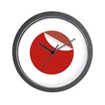 New Sticker Japan Wall Clock