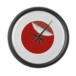 New Sticker Japan Large Wall Clock
