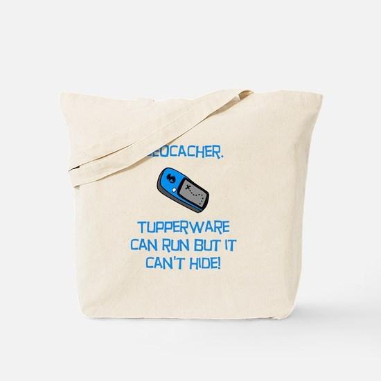 Geocacher Tupperware Tote Bag