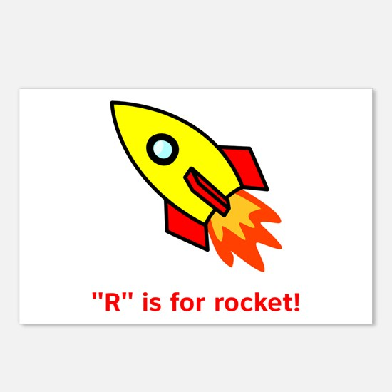 R Is For Rocket! Postcards (Package of 8)