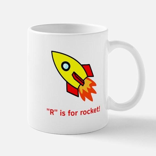 R Is For Rocket! Mug