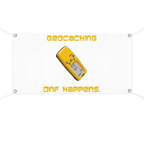 Geocaching DNF Happens! Banner