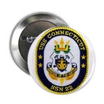 "USS CONNECTICUT 2.25"" Button"