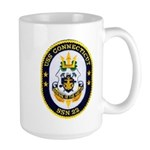 USS CONNECTICUT Large Mug