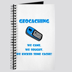 Geocaching Kick Some Cache! Journal