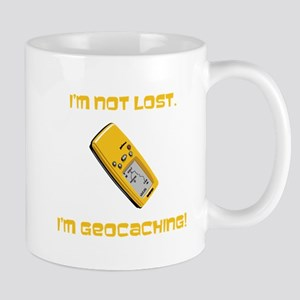 I'm not lost. I'm geocaching. Mug