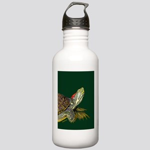 Lively Red Eared Slide Stainless Water Bottle 1.0L
