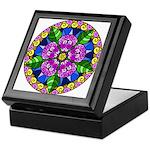Wild Rose Mandala Keepsake Box