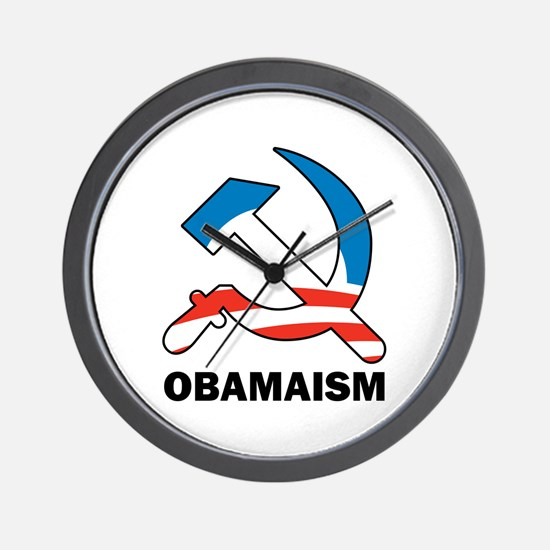 Obamaism Wall Clock