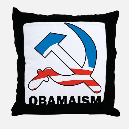 Obamaism Throw Pillow