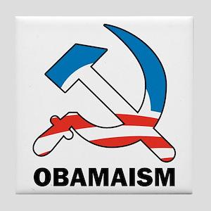 Obamaism Tile Coaster