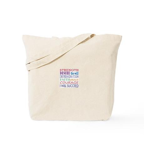 Encouraging Words Tote Bag