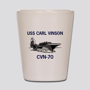 USS CARL VINSON Shot Glass