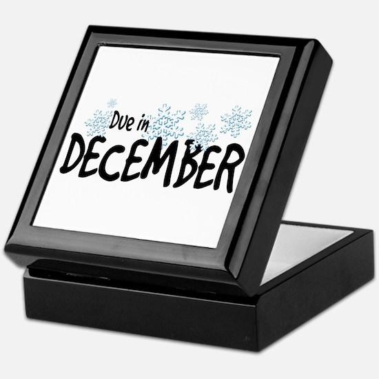 Due in December - Snow Baby Keepsake Box