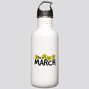 Due in March - Daffodils Stainless Water Bottle 1.