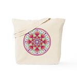 Heart Mandala Tote Bag