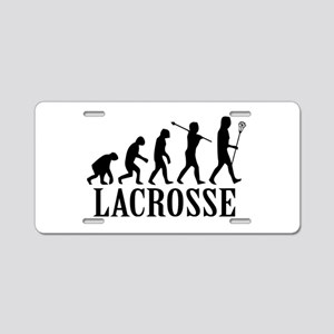 Lacrosse Evolution Aluminum License Plate