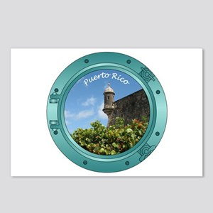 Puerto Rico Porthole Postcards (Package of 8)