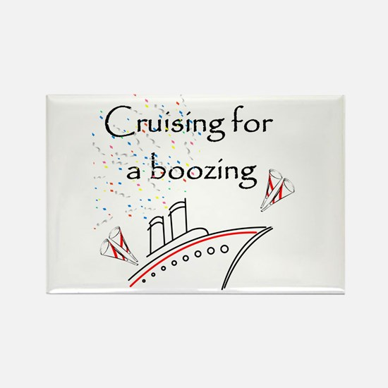 Cruising for a Boozing Rectangle Magnet