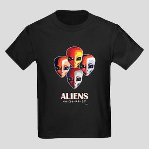 The MotoGP Aliens Kids Dark T-Shirt