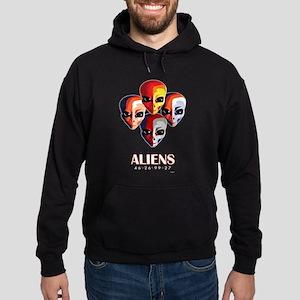 The MotoGP Aliens Hoodie (dark)