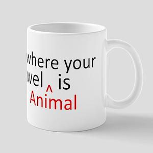 Towel Animal Mug
