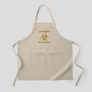 Distressed Biohazard Symbol Apron