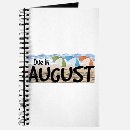 Due in August - Beach Journal