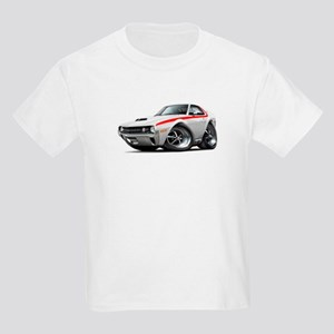 1970 AMX White-Red Car Kids Light T-Shirt