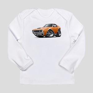 1970 AMX Orange Car Long Sleeve Infant T-Shirt