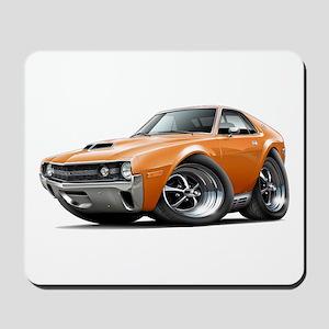 1970 AMX Orange Car Mousepad