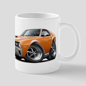 1970 AMX Orange Car Mug