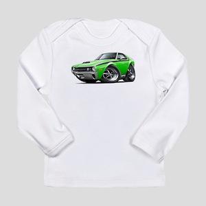 1970 AMX Lime-Black Car Long Sleeve Infant T-Shirt