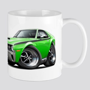 1970 AMX Lime-Black Car Mug
