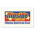 Flipside Rectangle Sticker
