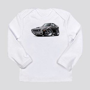 1970 AMX Black Car Long Sleeve Infant T-Shirt