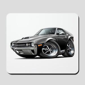 1970 AMX Black Car Mousepad