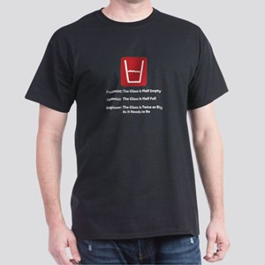 Glass Too Big Dark T-Shirt